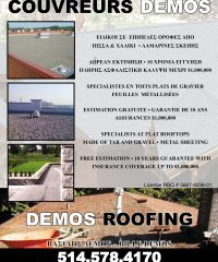 COUVREURS DEMOS / DEMOS ROOFING