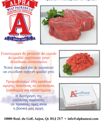 ALPHA Meat Packers Co Ltée