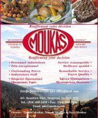 MOUKAS Les Aliments