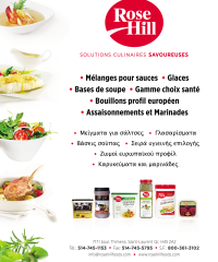 Les Aliments ROSE HILL