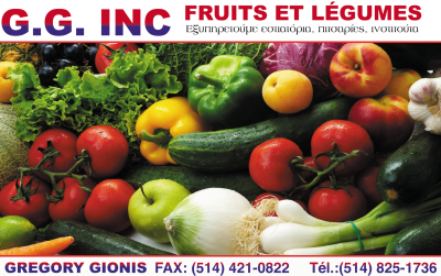 G.G. Inc, Fruits & Legumes