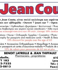 JEAN COUTU Pharmacie B. Latreille & J. Thiffault