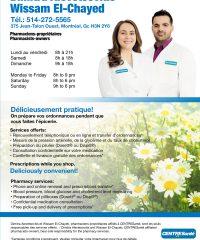 D. ALEVETSOVITIS W. EL-CHAYED Pharmacie