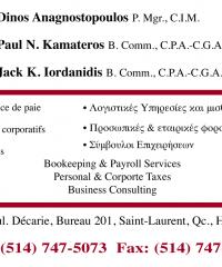 ANAGNOSTOPOULOS, Dinos, P.Mgr., C.I.M.