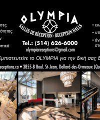 OLYMPIA Salles de Réception
