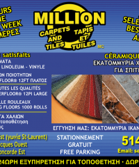 MILLION TAPIS & TUILES Ceramiques