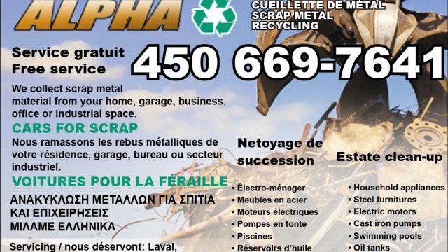 Alpha Scrap Metal