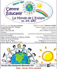 LE MONDE DE L'ENFANT Inc.