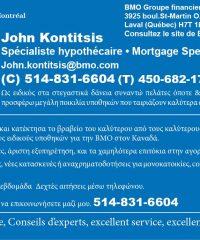 JOHN KONTITSIS, BMO-